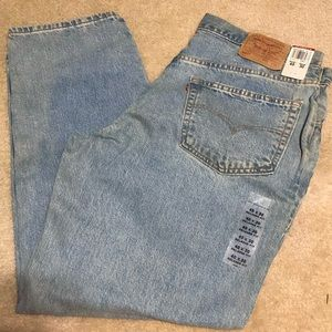 Men's Levi Strauss 550 Relaxed Fit Jeans 40x30